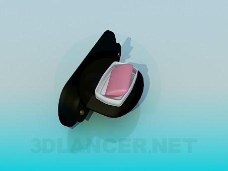 modelo 3D Sostenedor del jabón - escuchar