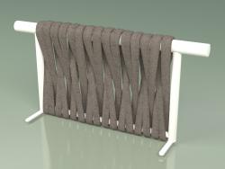Backrest of sofa module 211 (Metal Milk, Gray-Sand Belt)