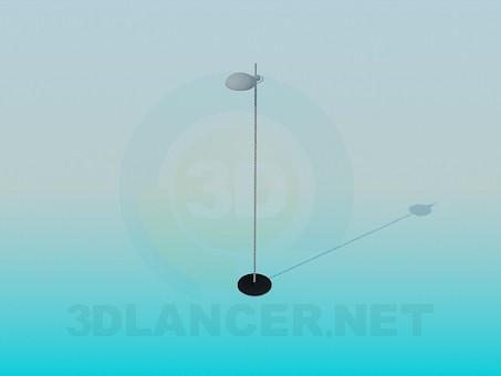 3d модель Напольная лампа – превью
