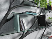 Decorative shelf design Sebastian Errazuriz