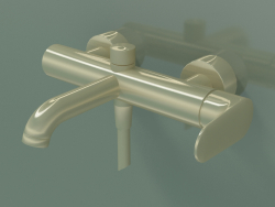 Single lever bath mixer for exposed installation (34420990)