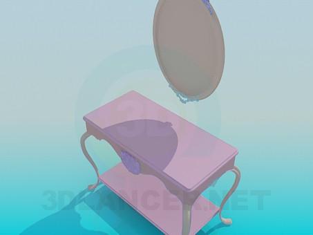 descarga gratuita de 3D modelado modelo Espejo de piso
