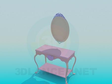 3d модель Трюмо – превью