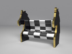 "Sofa ""Chess"""