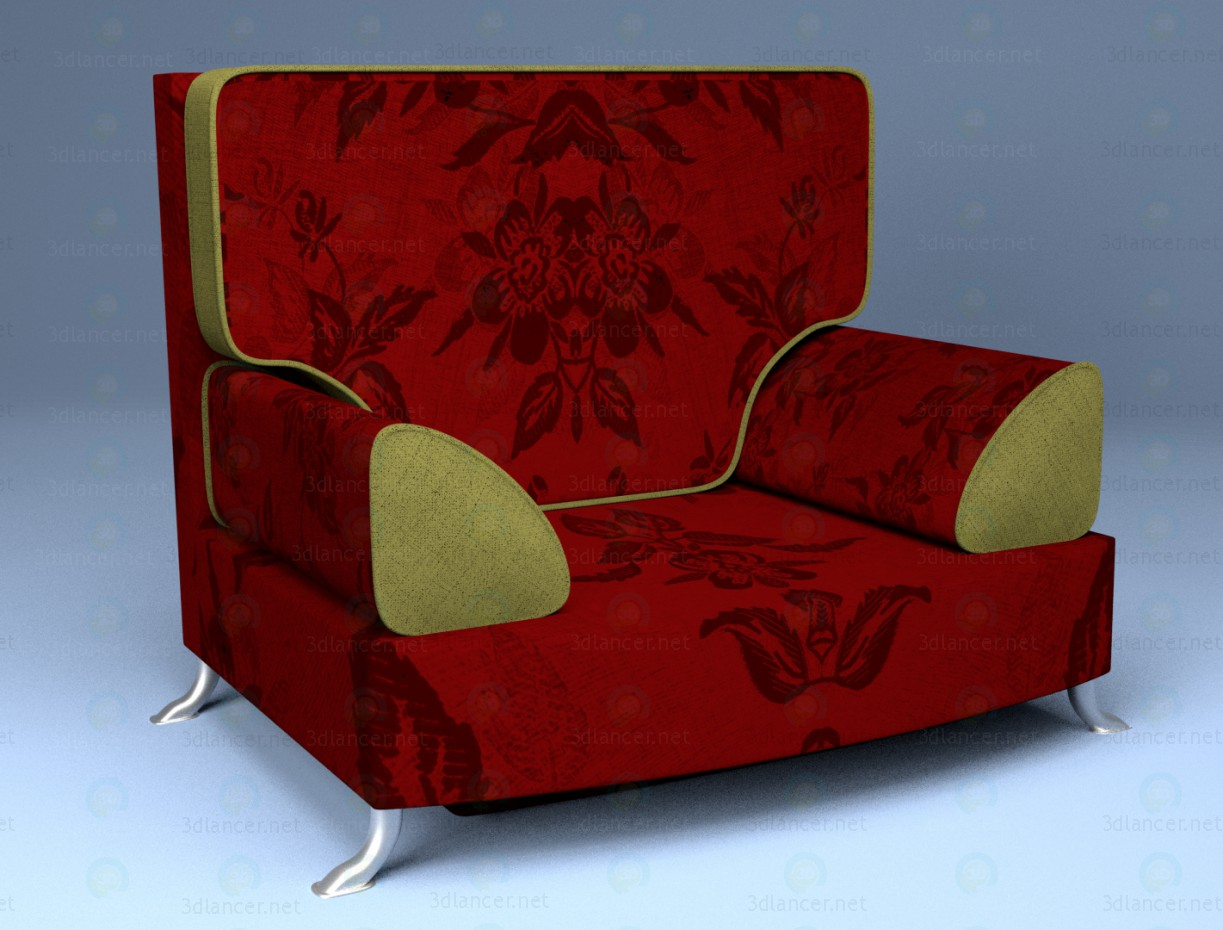 3d Armchair model buy - render