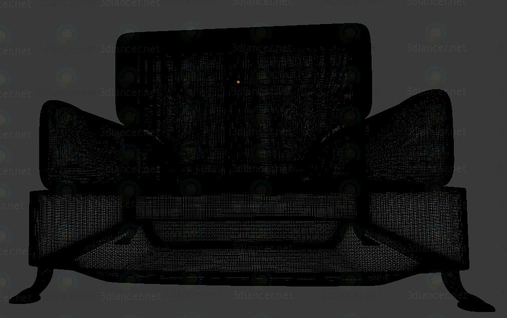 Sillón 3D modelo Compro - render