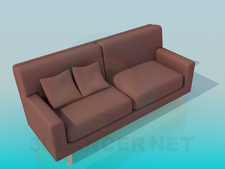 3d modeling Sofa in high-tech style model free download