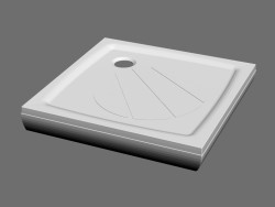 Shower tray PERSEUS PRO-80 SET
