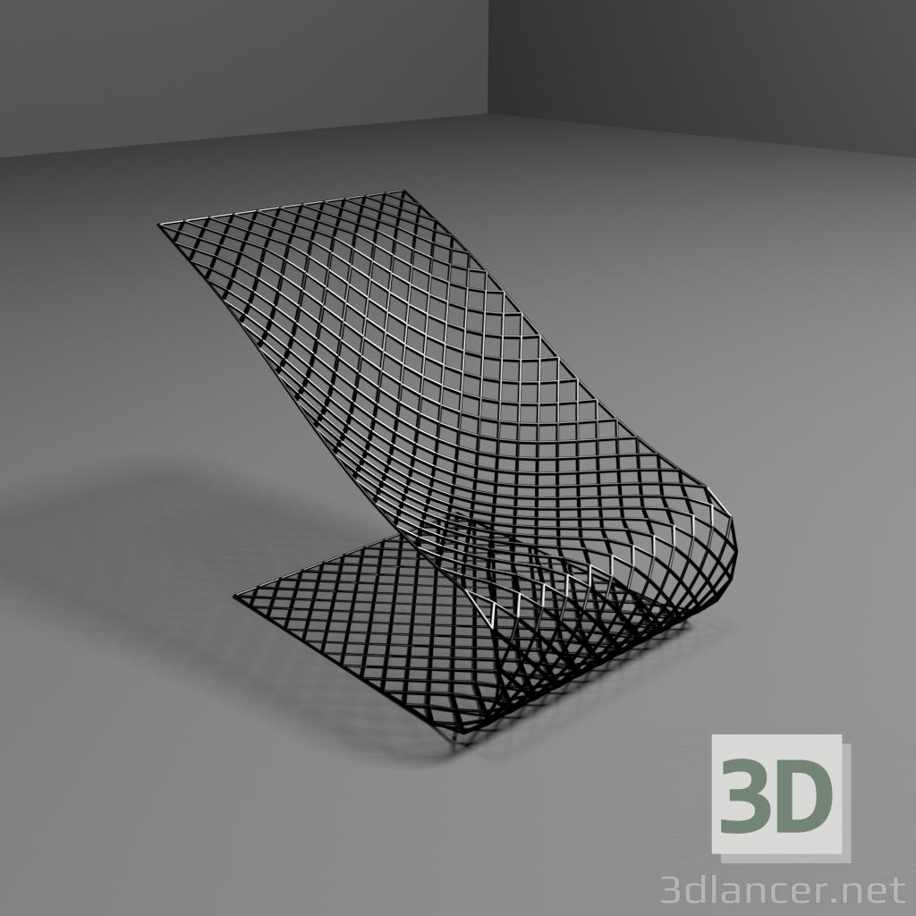3D-Modell Sessel Rahmen herunterladen 3dlancer.net