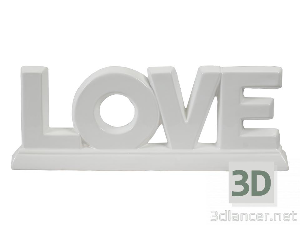 3 डी मॉडल Statuette - पूर्वावलोकन