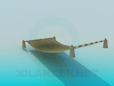 modelo 3D Hamacas - escuchar