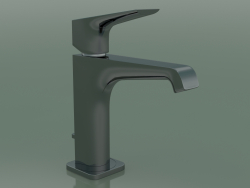 Single lever basin mixer 130 (36110330, Polished Black Chrome)