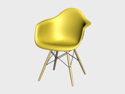 Eames Пластиковое кресло DAW