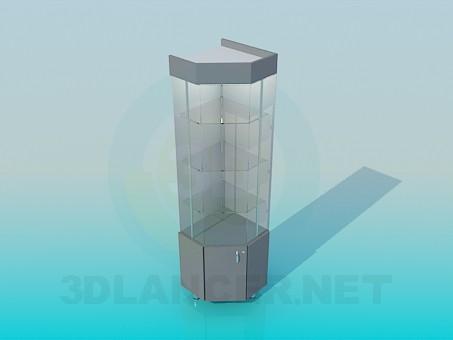 descarga gratuita de 3D modelado modelo Escaparate
