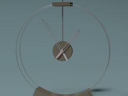 Table clock in a minimalistic style