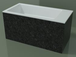 Vasque à poser (01R142102, Nero Assoluto M03, L 72, P 36, H 36 cm)