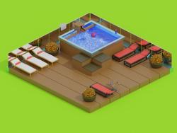 आधुनिक स्विमिंग पूल