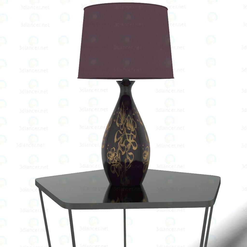 descarga gratuita de 3D modelado modelo Lámpara de mesa