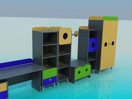 3d model Sets fundas para Tesco - vista previa