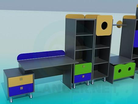 modelo 3D Sets fundas para Tesco - escuchar