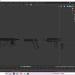 3 डी हथियार पैक मॉडल खरीद - रेंडर