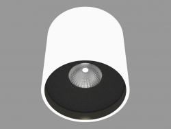 Overhead Ceiling Light Lamp (DL18416 11WW-R White Black)