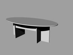 Tisch mit Brettern