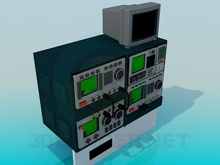 3d model Oscilloscopes - preview