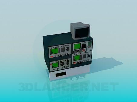 3d model Oscilloscopes - preview
