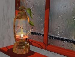 Lâmpada de querosene
