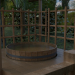 3d Ofuro deck model buy - render
