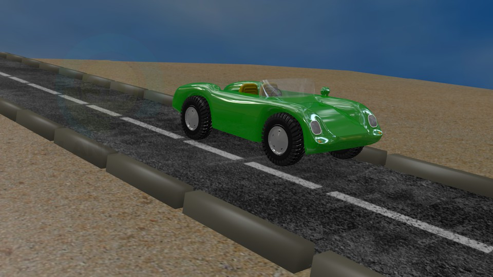 descarga gratuita de 3D modelado modelo Porsche 550 Dave