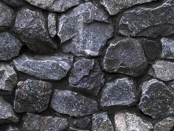 Natural Black Stone