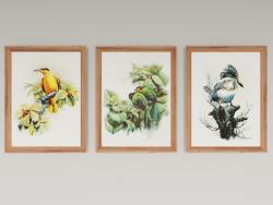 Conjunto de pinturas de Zeng Xiao Lian