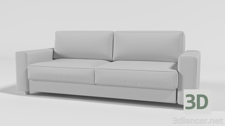 3d Soft sofa model buy - render