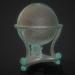 3d Medieval globe Free low-poly 3D model model buy - render