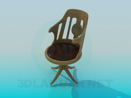 modelo 3D Сhair - escuchar