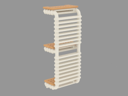Radiator with shelves Bridge
