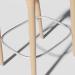3d BAR CHAIR RG model buy - render