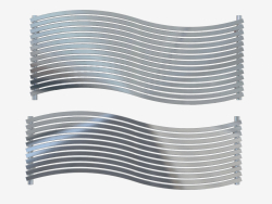 Radiator from stainless steel Lola