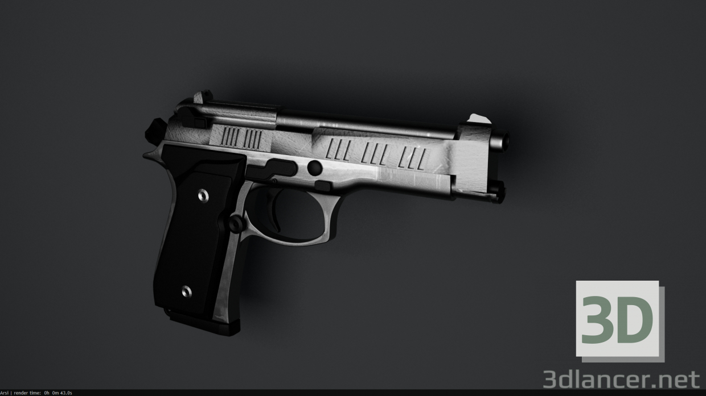 3d model Berett M9 - preview