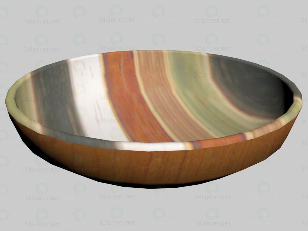3d model Plate Etno - preview