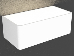 Surface-mounted wall-mounted LED light (DL18417 11WW-White Dim)