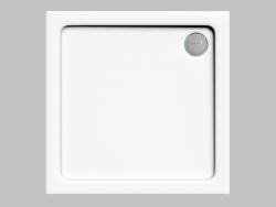 Піддон квадратний 90 cm Minimal (KTN 041B)