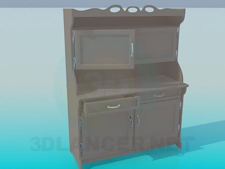modelo 3D Buffet - escuchar