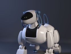 Собака робот-The robot dog
