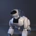 3d Robot Dog model buy - render