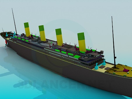 3d model Steamer - preview