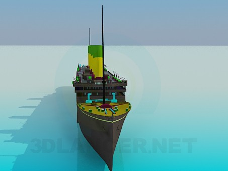 3d model Steamer - preview