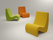 VITRA Amoebe крісло